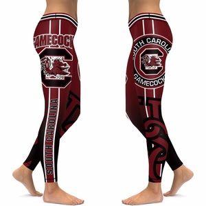 Gamecocks yoga pants leggings gameday carolina